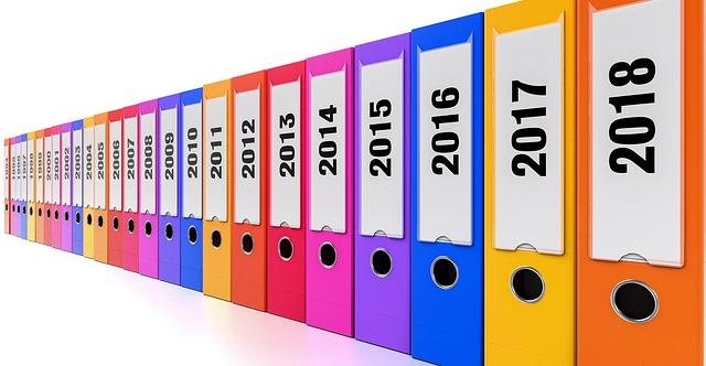 書類整理、ファイル管理