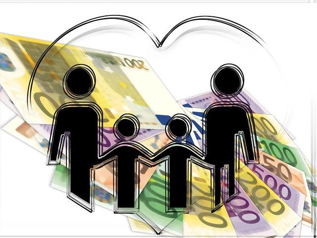 生活補償、家族、給付金、お金
