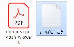 XMLドキュメントファイル(名前変更)