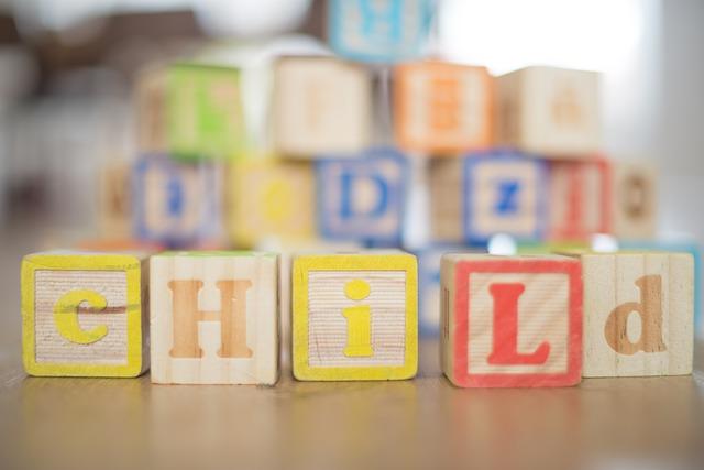 子ども、ブロック、子育て