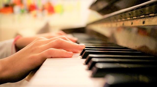 ピアノ、音楽、演奏、保育園