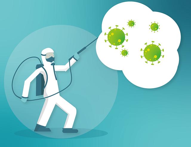 感染症対策、消毒、滅菌