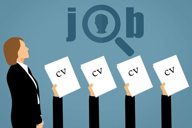 仕事探し、転職、履歴書