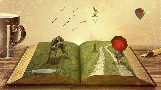 読書、本、ファンタジー