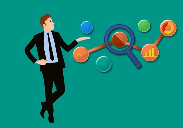 ビジネスマン、分析、経営改善