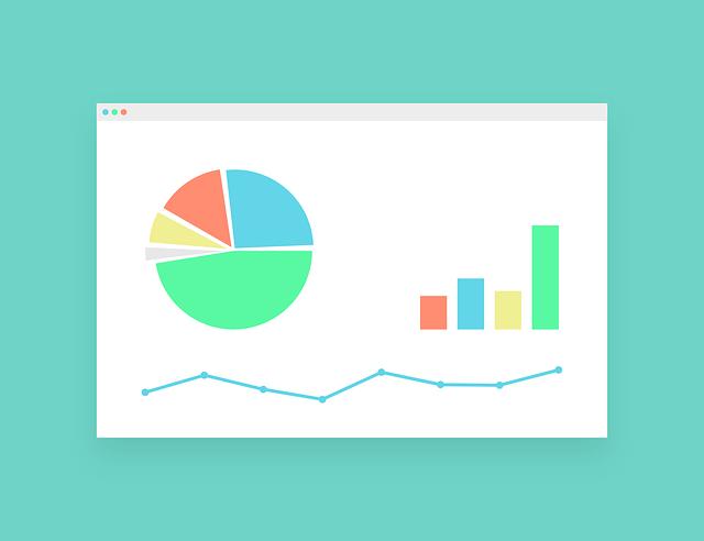 グラフ、分析、データ